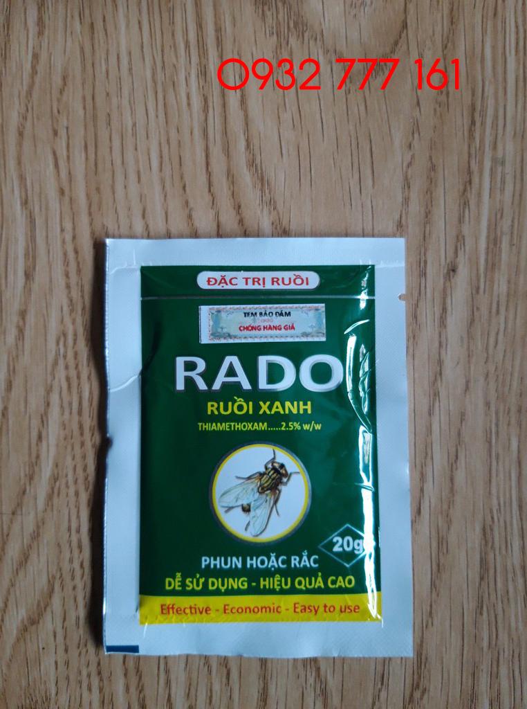 bán thuốc đặt trị ruồi rado