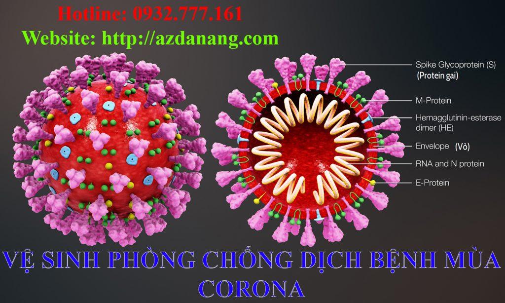 Vệ sinh phòng chống dịch bệnh corona