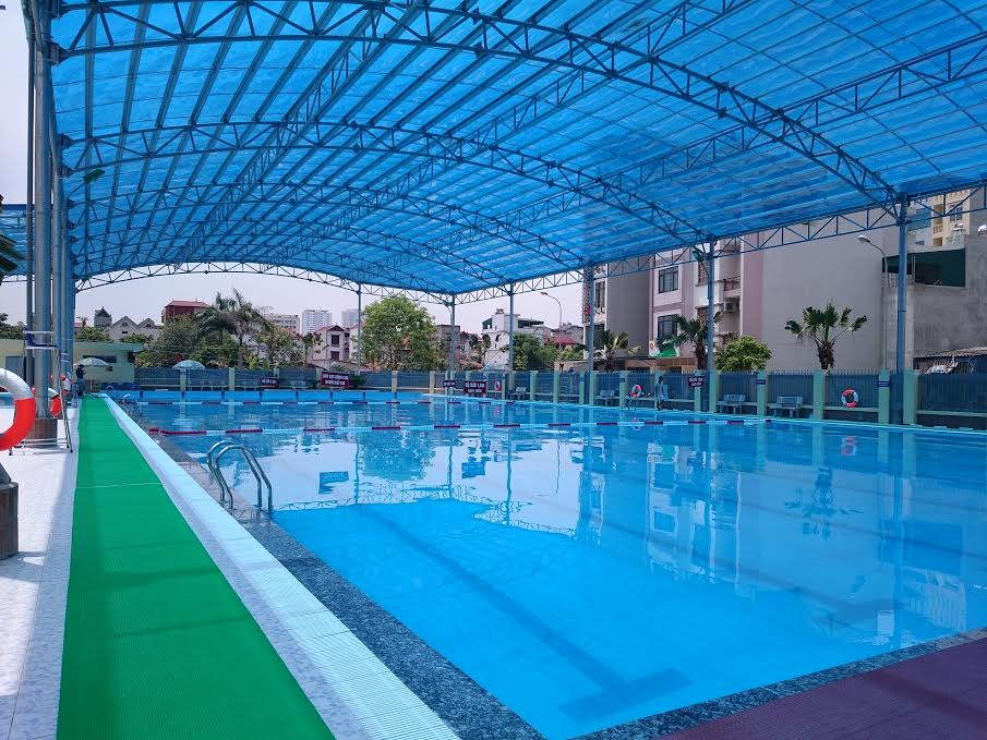 Mái che bạt xếp hồ bơi, sự kiện khu vui chơi - Bạt xếp Phương Nam | CÔNG TY  PHƯƠNG NAM